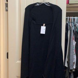 Black cardigan NWT